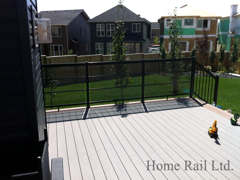 toronto aluminum railing decking rail home rail ltd