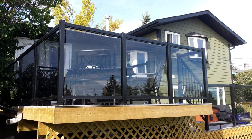 Deck Railing Calgary | Aluminum Railing U0026 Decks | Home Rail Ltd.