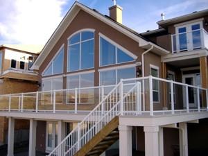aluminum decking calgary | Calgary Aluminum Railing: Home-Rail Ltd.