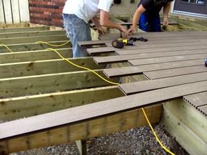 Calgary deck builder home rail ltd for Decking framework timber